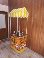Bardakta Süt Mısır Arabası (50x70)