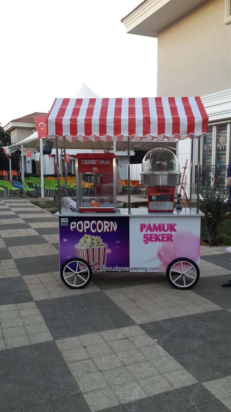 Pamuk Şeker & Pop Corn Arabası