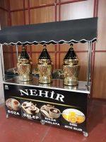 Sahlep Boza Sıcak Çikolata Arabası