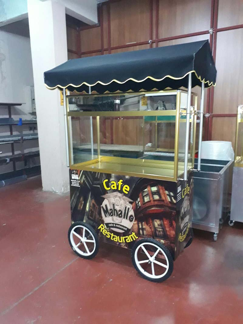 Sandviç Kahvaltı Arabası