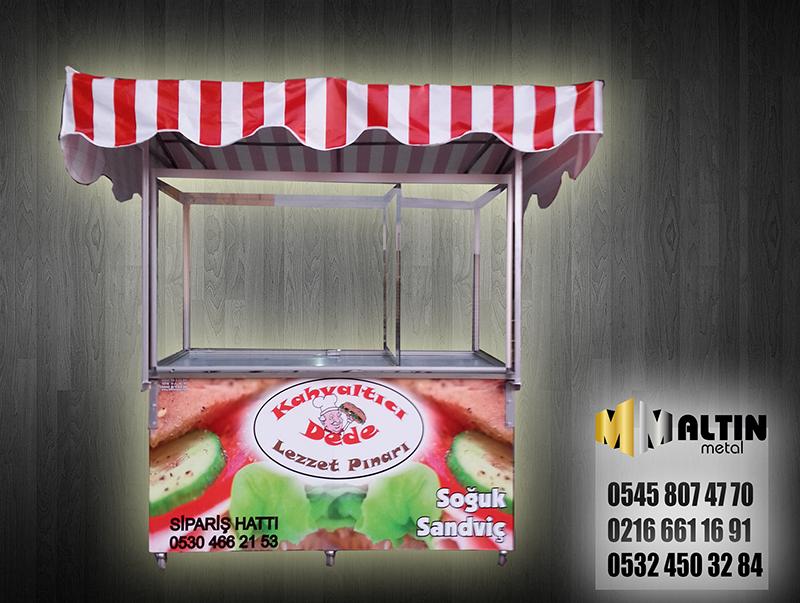 Soğuk Sandviç Kahvaltı Arabası